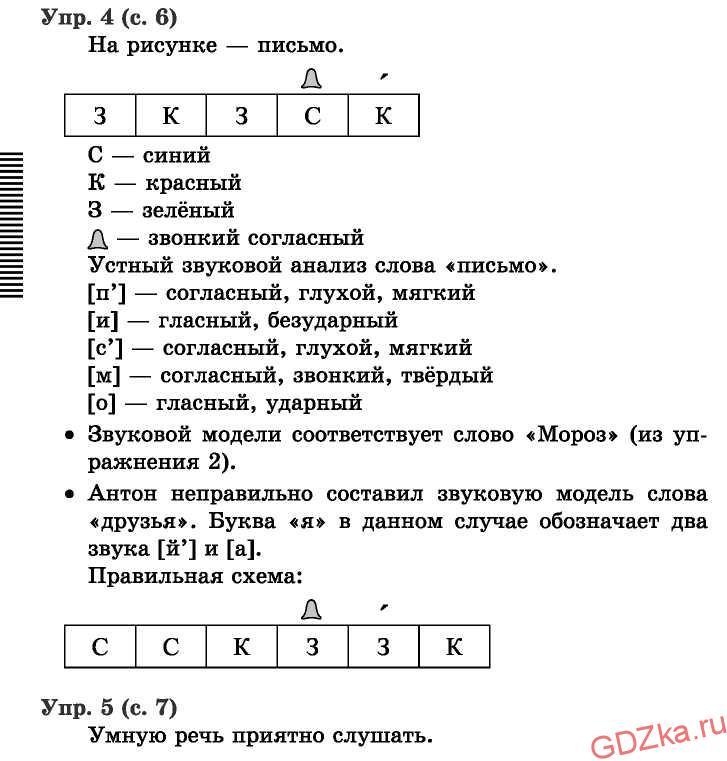Решение упражнений к учебники С. В. Иванова и др. Урок 1