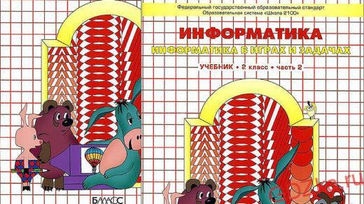 ИНФОРМАТИКА К учебнику «Информатика. («Информатика в играх и задачах»). 2 класс: Учебник в 2-х частях/А.В. Горячев, К.И. Горина, Т.О. Волкова—М.: Баласс.»