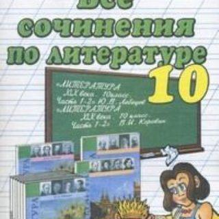 Все сочинения по литературе за 10 класс